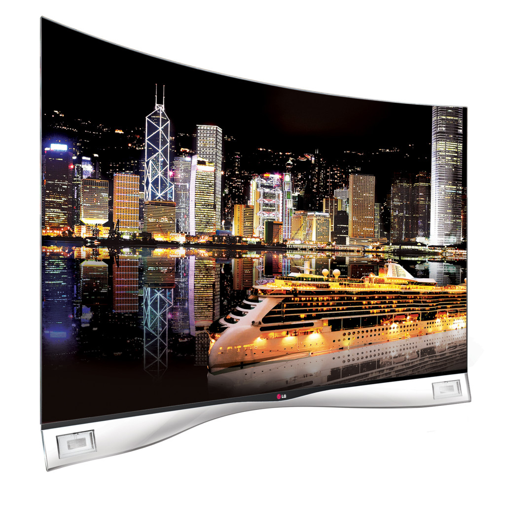 CURVED OLED TV_SIDE 15_Night View(L)