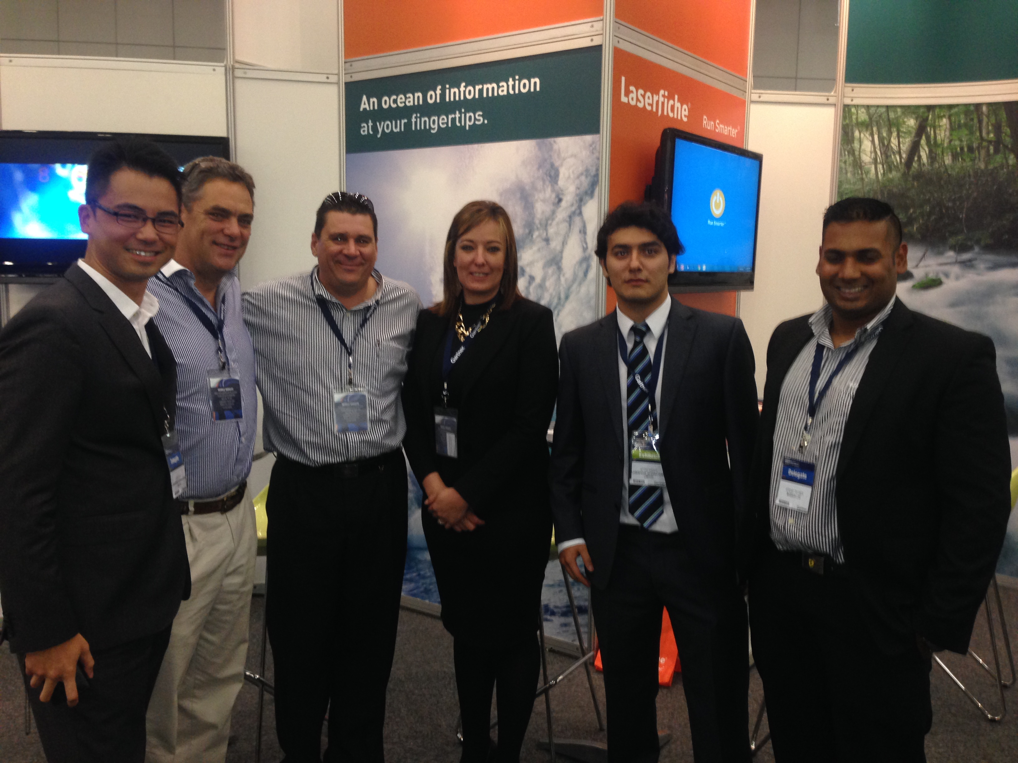 Nashua, with Laserfiche International, at the Gartner IT Symposium, taking ECM to the South African Market.