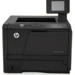 HP Laserjet Series: HP LaserJet Pro 400 Printer M401 series