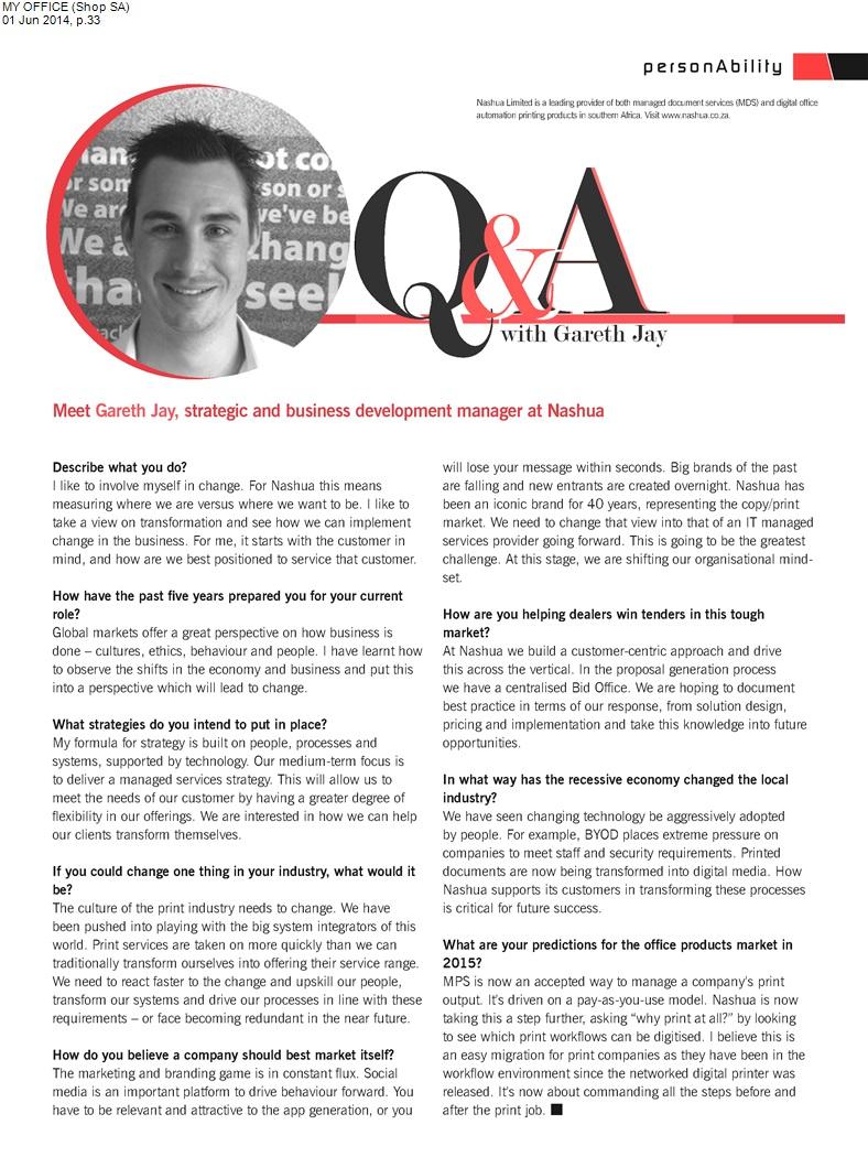 Q&A Nashua