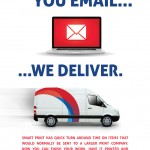 To email we deliver
