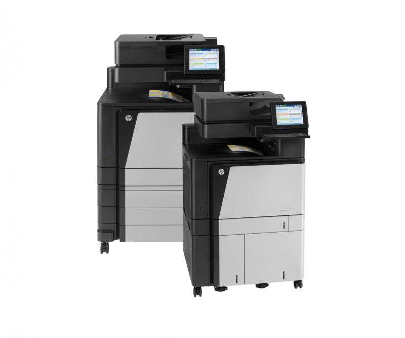 HP Color LaserJet Enterprise flow M880 Multifunction Printer series