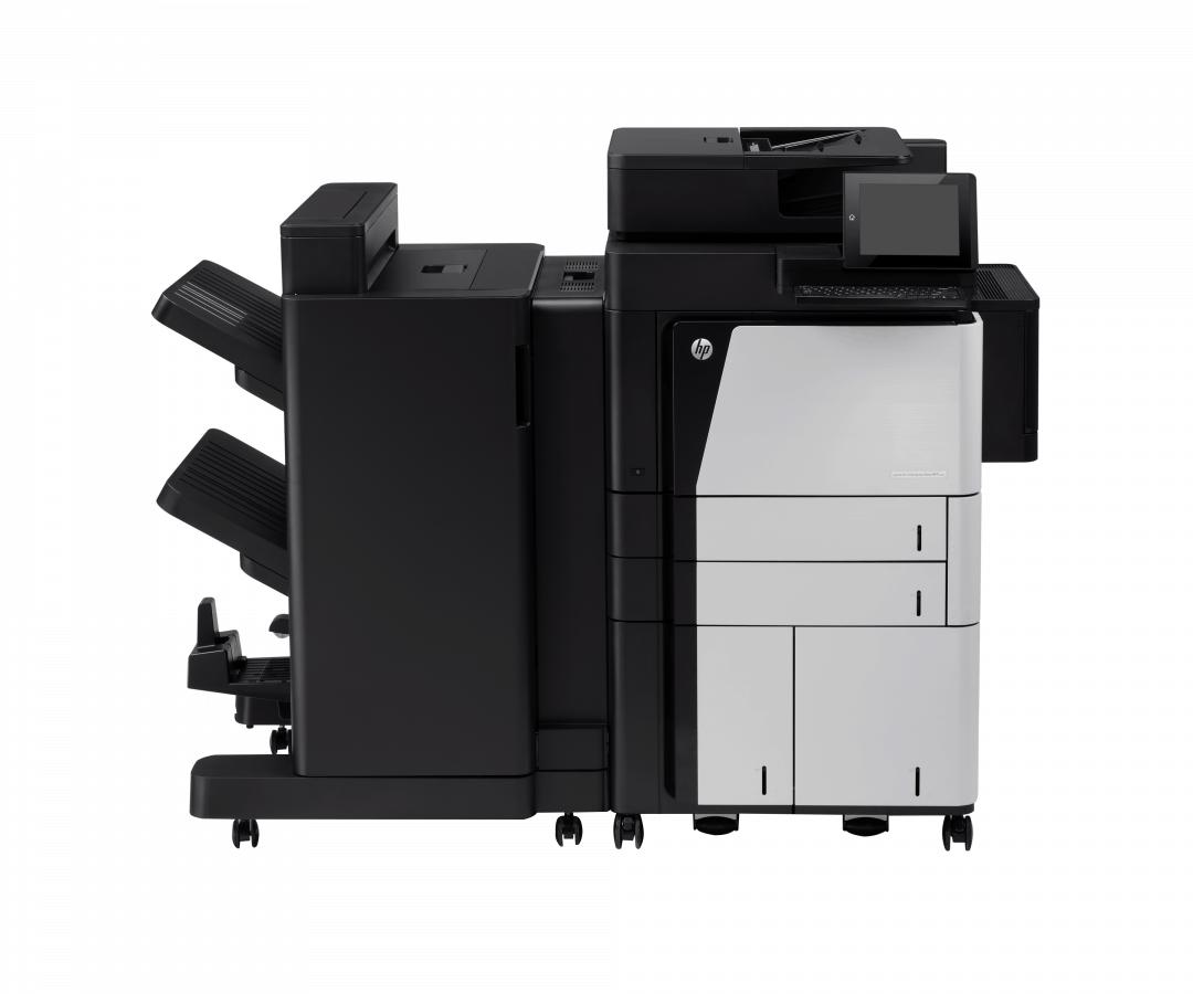 HP LaserJet Enterprise flow MFP M830 series