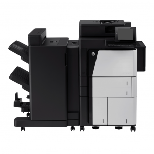 HP LaserJet Enterprise flow MFP M830 series
