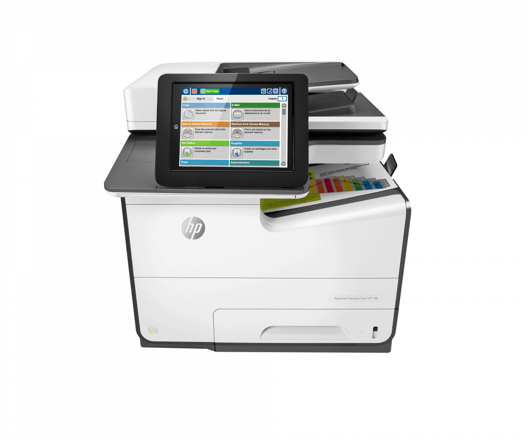 HP PageWide Enterprise Color MFP 586 series