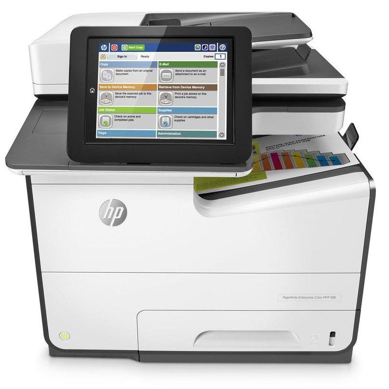 HP PageWide Enterprise Colour MFP 586dn
