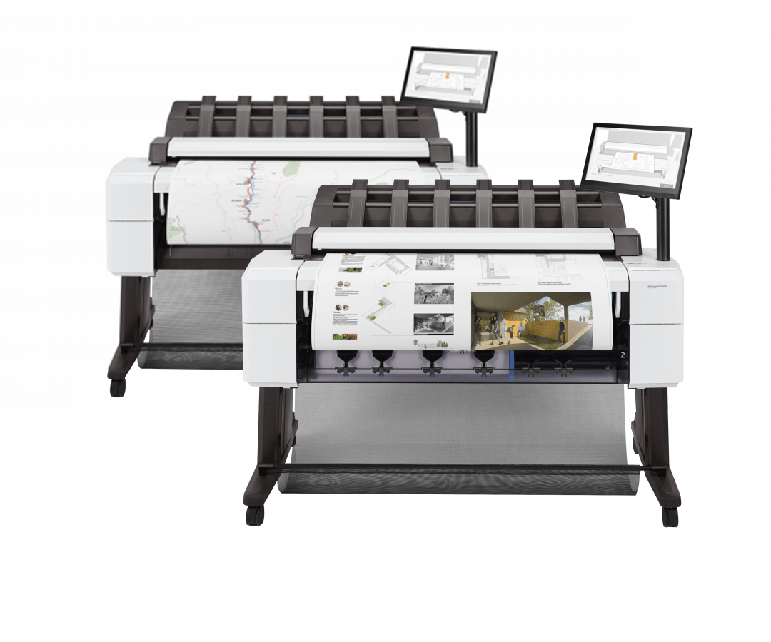 HP DesignJet T2600 and T2600dr MFP