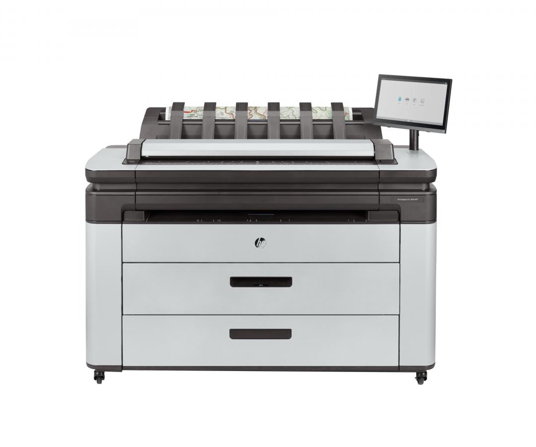 HP DesignJet XL3600 and XL3600dr MFP