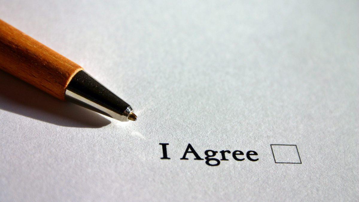 agree agreement ankreuzen arrangement 210585