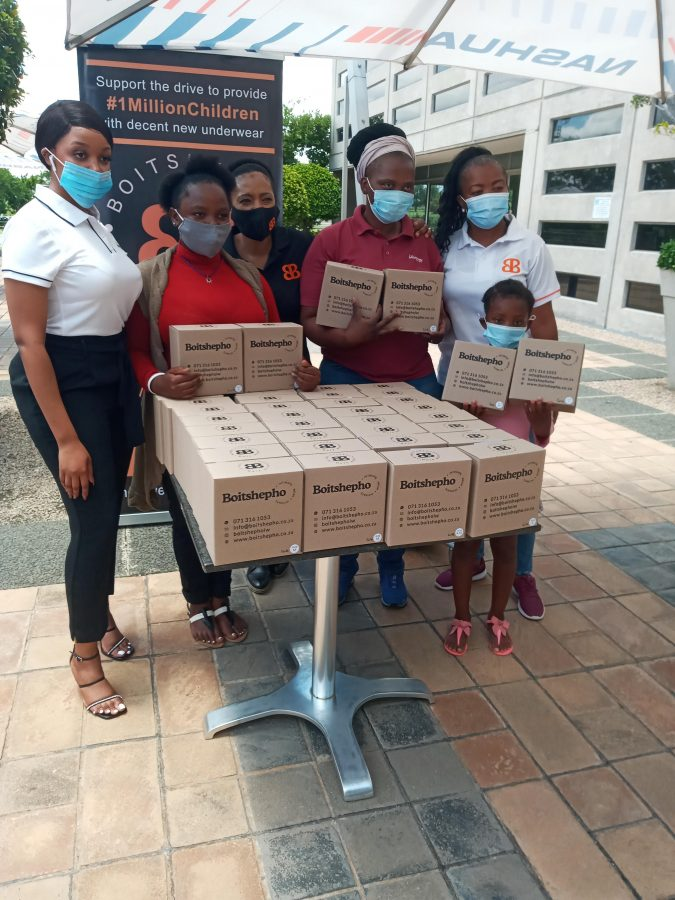 Nashua Children's Charity Foundation Donation Of Boitshepo Intimate Wear Pic 4