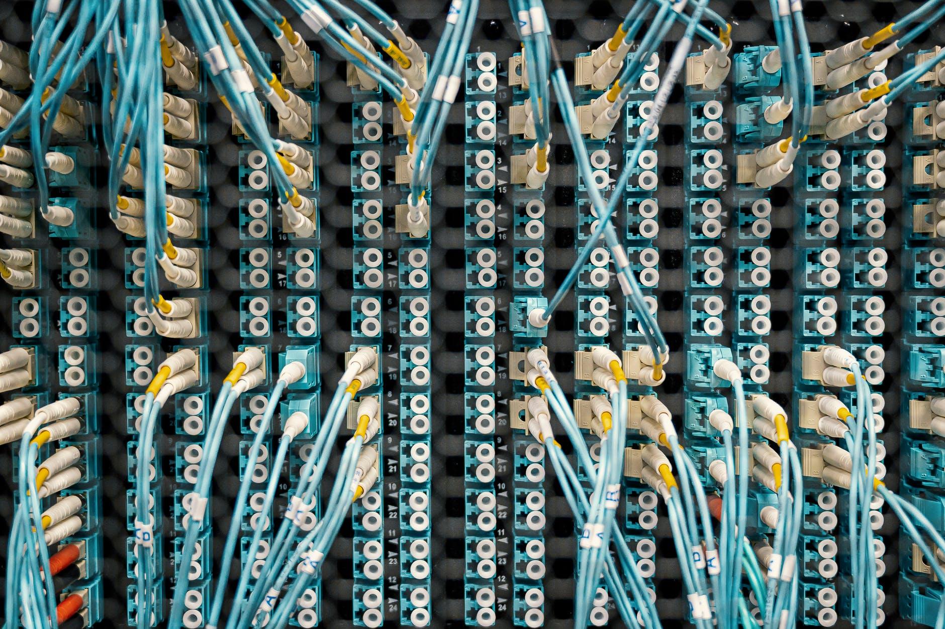 fibre internet cables
